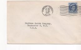 3083   Carta  Pembroke Ontario 1955 Canada