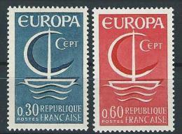 "FR YT 1490 & 1491 "" Europa "" 1966 Neuf** - France"