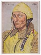 Dt.- Reich (A2644) Propagandakarte Unsere Luftwaffe Oberleutnant Steinhoff, Staffelkapitän Einer Jagtstaffel, Ungebrauch - Germany