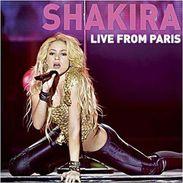 Live From Paris (DVD + CD Audio) Shakira - Disco, Pop