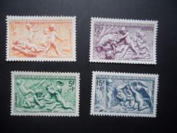 Année 1949  N° 859 A 862 Neuf * Série Des Saisons