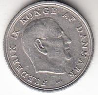 DINAMARCA 1965  1 KRONE. REY FREDERIK IX . NIQUEL PESO 6 GRAMOS .MBC   CN4360 - Dinamarca