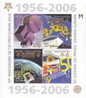 Bosnie Bloc De 2006 50ème Anniversaire Europa 1956-2006 Bloc Neuf **