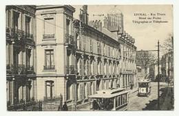 EPINAL Rue Thiers Hôtel Des Postes - Epinal