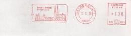 EMA ALLEMAGNE DEUTSCHLAND BUND GERMANY PARVIS CATHEDRALE DOM MUNSTER DOMPLATZ HALBERSTADT 38820 - Kerken En Kathedralen