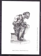 GRAVURE Allégorie De L'Orfévrerie - Musée Bartholdi,COLMAR - Postdokumente