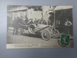 CPA WW1 GRANDE GUERRE 1914 -15 60 BEAUVAIS AUTO MITRAILLEUSE - Guerra 1914-18