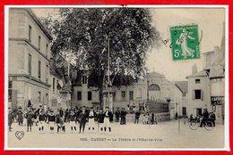 03 - CUSSET --  Le Théâtre Et L'Hôtel De Ville - Frankrijk