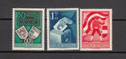 1950  MICHEL  Nº 952 / 954    / * /