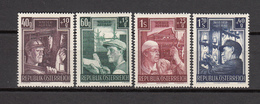 1951  MICHEL  Nº 960 / 963    / * /