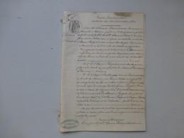 17 MARENNES 1874 Procès Faillite Boulanger H. Fouquet Vs Ordonneau, Diot, Jailler, Ref 735 VP22 - Historical Documents