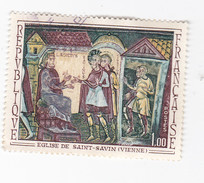 EGLISE De SAINT- SAVIN ( VIENNE) 1 Francs - France