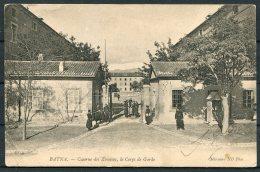 1905 France Algeria Batna Zouaves, Le Corps De Garde Military Postcard, Constantine - Gand, Belgium - Algeria (1924-1962)