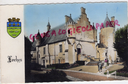 37 - LOCHES - CHATEAU  COUR INTERIEURE