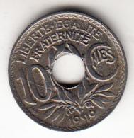 FRANCIA  1919    10 CENTIMES . TIPO LINDAUER. EBC      CN4361 - D. 10 Céntimos