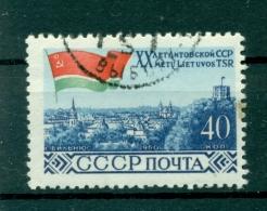 Russie - USSR 1960 - Michel N. 2365 A - Capitales Des Républiques Baltes
