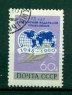 Russie - USSR 1960 - Michel N. 2392 - 15 Années De La FSM