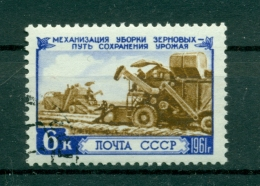 Russie - USSR 1961 - Michel N. 2496 - Agriculture (II) - Obl.
