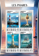 DJIBOUTI 2016 ** Lighthouses Leuchttürme Phares M/S - OFFICIAL ISSUE - A1627