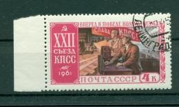 Russie - USSR 1961 - Michel N. 2534 A - 22e Congrès Du PCUS
