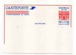 Entier--CP Centenaire Institut Pasteur--NEUF--Excellent  état - Entiers Postaux