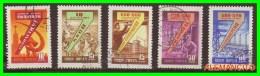 URRS  -  RUSSIA -- EUROPA  SELLOS AÑO 1958