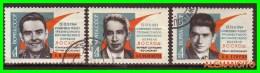 URRS  -  RUSSIA -- EUROPA  SELLOS AÑO 1964