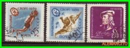 URRS  -  RUSSIA -- EUROPA  SELLOS AÑO 1959