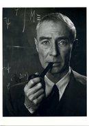 Manhattan Project Nuclear Physicist Robert Oppenheimer Postcard Philippe Halsman - 04091 - Personnages Historiques