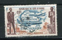 COTE D´IVOIRE- P.A Y&T N°22- Oblitéré - Costa De Marfil (1960-...)