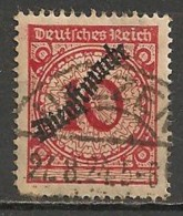 Timbres - Allemagne  - 1923 - Service - N° 64 -