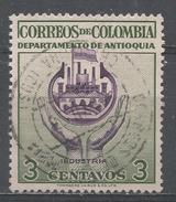 Colombia 1956. Scott #645 (U) Industry Antioquia * - Colombie