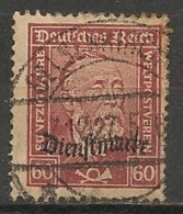 Timbres - Allemagne  - 1924-1928 Service - N° 75 -