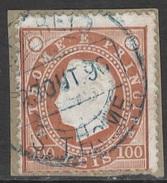 St. Thomas And Prince – 1887 King Carlos 100 Réis - St. Thomas & Prince