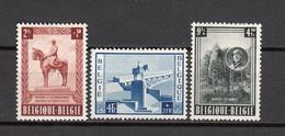 1954   YVERT  Nº  938 / 940   / * /