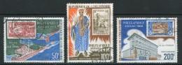 COTE D´IVOIRE- P.A Y&T N°42 à 44- Oblitérés - Côte D'Ivoire (1960-...)