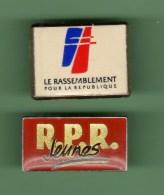 RPR *** Lot De 2 Pin´s Differents *** 0044 - Associations