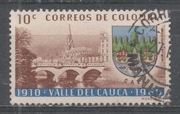 Colombia 1962. Scott #729 (U) Cauca River Bridge, Cali * - Colombie