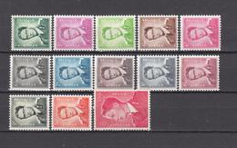 1958 - 1962   YVERT  Nº  1066 / 1074   / * /