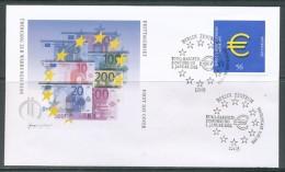GERMANY Mi. Nr. 2234 Einführung Der Euro-Münzen Und -Banknoten - FDC - FDC: Buste