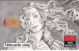 FRANCE - San Marco/Venus 2, Tirage %10000, 08/94, Used - 5 Unidades