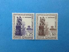 1959 ITALIA FRANCOBOLLI NUOVI ITALY STAMPS NEW MNH** ORGANIZZAZIONE INTERNAZIONALE DEL LAVORO OIL - 1946-60: Mint/hinged