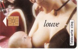 FRANCE - Louve Vania, Tirage %10000, 02/95, Used - 5 Unidades