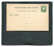 AD Heligoland Postcard 1865 P1