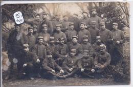 RAMBERVILLERS- GROUPE DE VALEUREUX MILITAIRES-30-12.1914 - Rambervillers