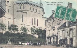 ILLE ET VILAINE - 35 - CHATEAUBOURG - La Place De L'église - Other Municipalities