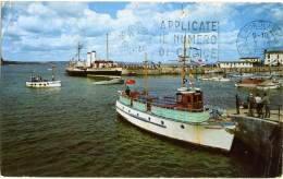 REGNO UNITO  WALES  TENBY  The Harbour  The Campbell's Steamer - Pembrokeshire