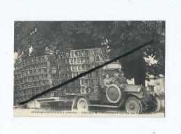 CPA  Rétrécit -  Neuville Coppegueule (Somme )-Fabrique C.Monserrat (Service Des Expeditions)Chaises - Camion Ancien - France