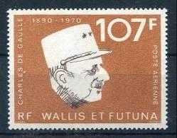 !!! WALLIS ET FUTUNA THEME DE GAULLE PA N°48 NEUF ** - Luftpost
