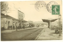 37 067   CHINON  La GARE - Chinon